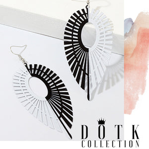 EARRINGS (Fan)