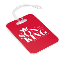 Load image into Gallery viewer, SON Of THE KING Bag Tag (White on Red)