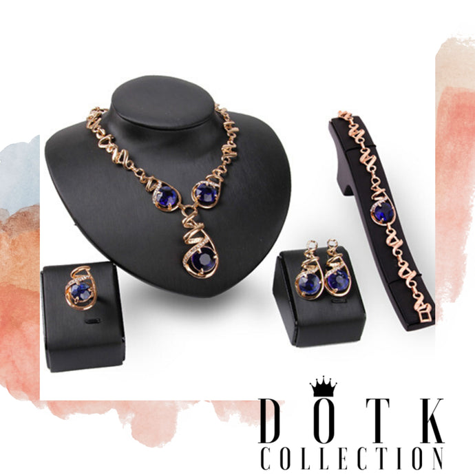 Jewelry Set 4pc (Royal Drip )
