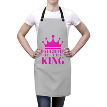 Load image into Gallery viewer, DAUGHTER Of THE KING Apron (Grey)