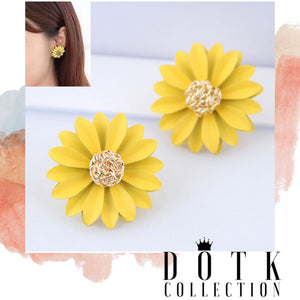 EARRINGS (Sunflower)