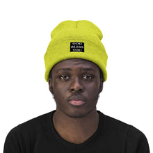 Load image into Gallery viewer, GOD BLESS YOU Knit Beanie