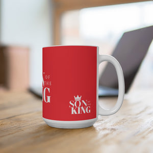 SON Of THE KING Mug (White on Red)