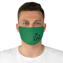 Load image into Gallery viewer, SON Of THE KING Fabric Face Mask (Money Green)