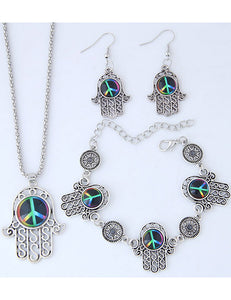 JEWELRY SET 3pc (Peaceful)