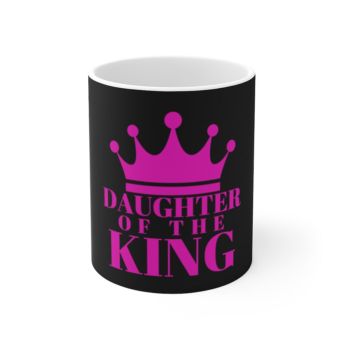 Daughter of The King Ceramic Mug (Blk)