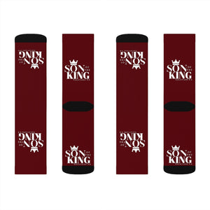 SON Of THE KING Top Socks (Dark Wine)