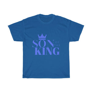 SON Of THE KING Blk Unisex Heavy Cotton Tee