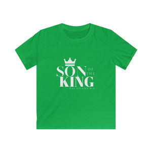 SON Of THE KING Kids Tee (Wht text)