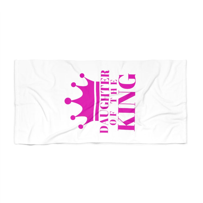 DAUGHTER of THE KING Beach Towel