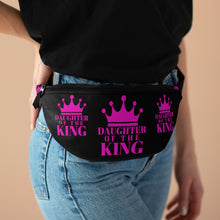 Load image into Gallery viewer, DAUGHTER Of THE KING Fanny Pack (Black)