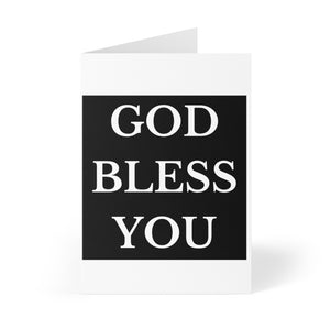 GOD BLESS Greeting Cards (8 pcs)