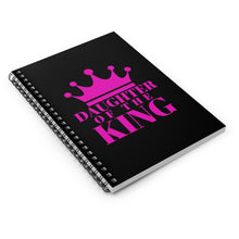 Load image into Gallery viewer, Daughter of The King Spiral Notebook
