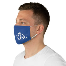 Load image into Gallery viewer, SON Of THE KING Fabric Face Mask (Blue)