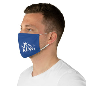 SON Of THE KING Fabric Face Mask (Blue)