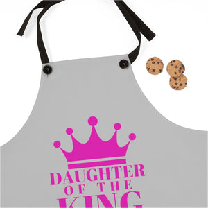 DAUGHTER Of THE KING Apron (Grey)
