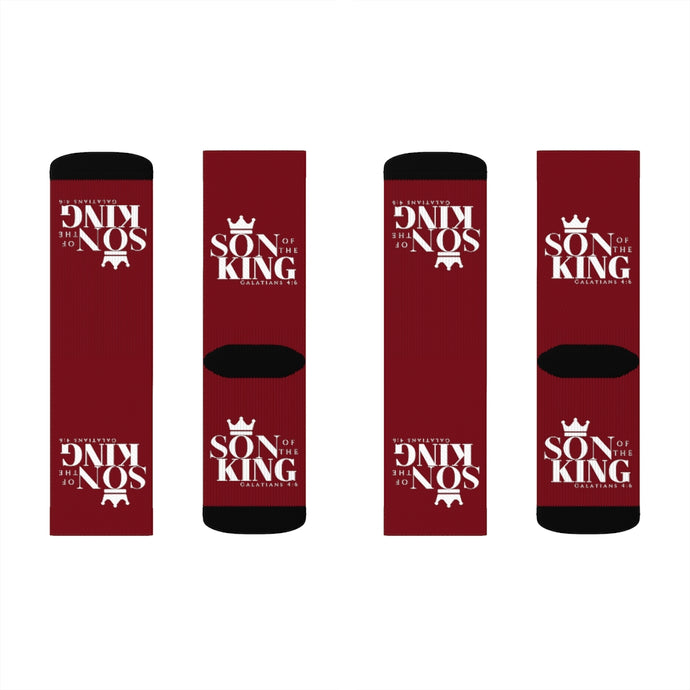 SON Of THE KING Top Socks (Wine)