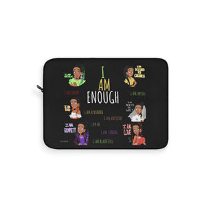 I AM ENOUGH Laptop Sleeve