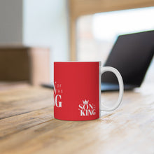 Load image into Gallery viewer, SON Of THE KING Mug (White on Red)