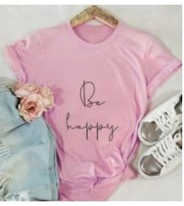 Be Happy shirt (teen small)