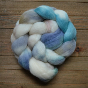 "Charollais Spinning Fiber ""Cove"" 4 oz"