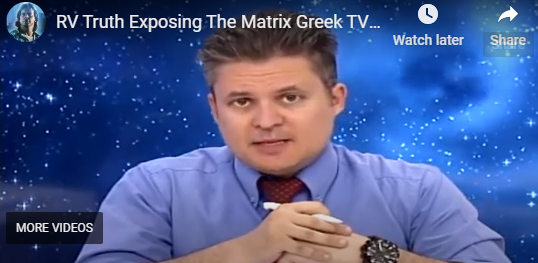 RV Truth Exposing The Matrix Greek TV Interview - George Floyd