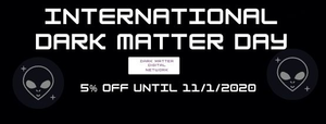INTERNATIONAL DARK MATTER DAY SALE 2020