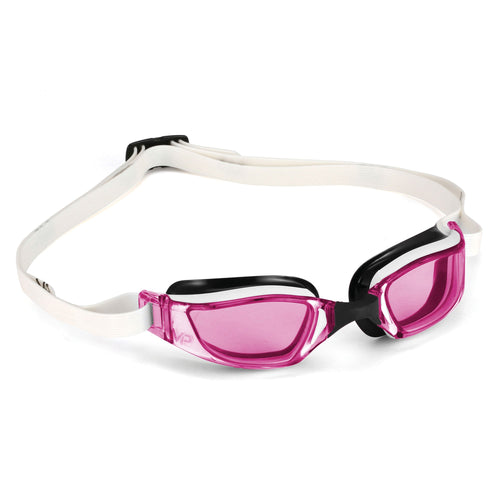 スイムゴーグル MP Michael Phelps XCEED(エクシード) Lady-fit - White/Black/Pink Lens [レディーズ] - STYLE BIKE ONLINE SHOP