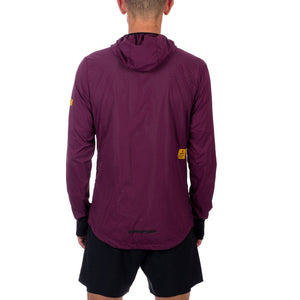 ランニングジャケット CMRJA06 Combat Luxe Jacket - Mauve Wine Red / Aspalt Grey [ユニセックス] - STYLE BIKE ONLINE SHOP