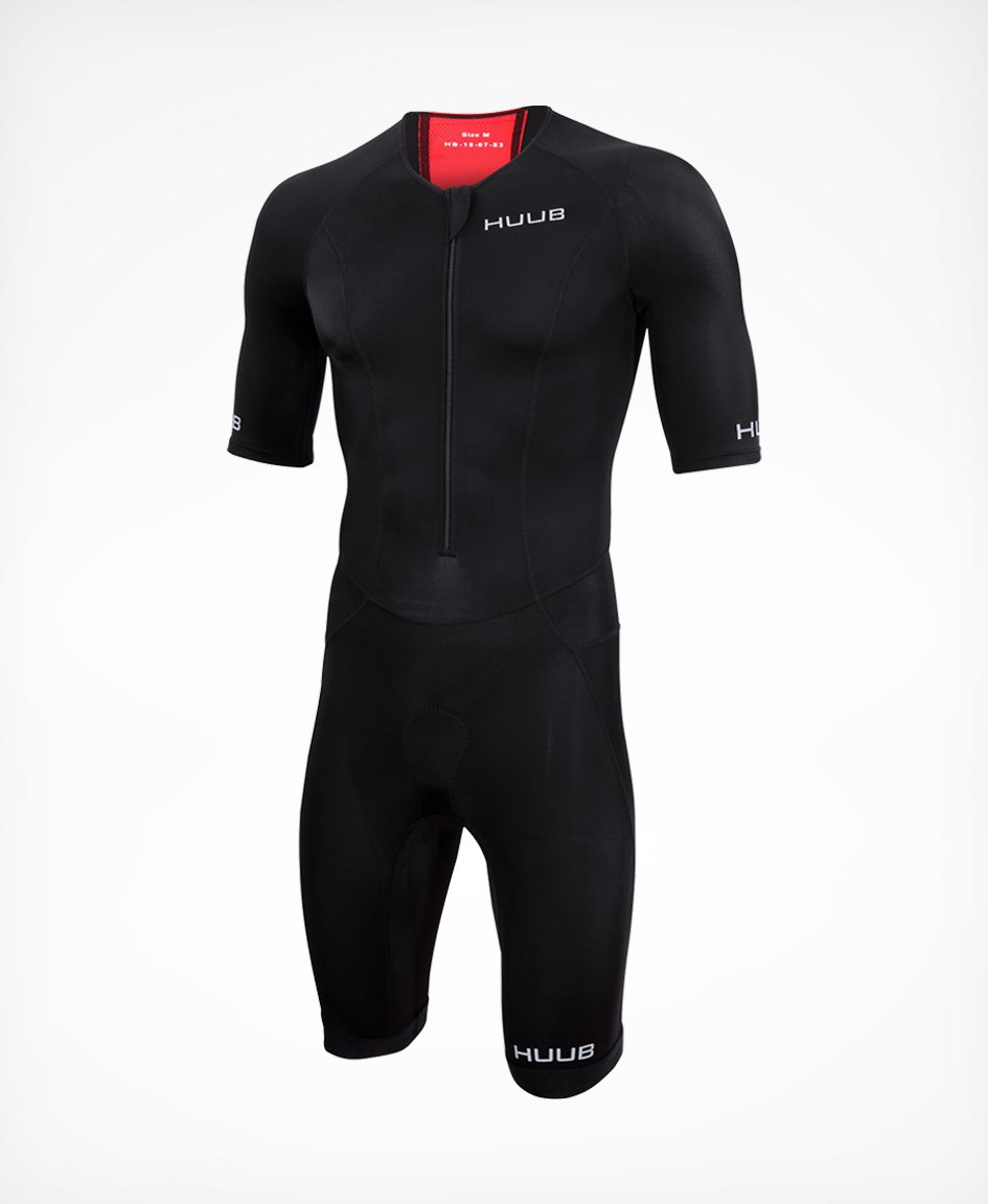 トライスーツ Essential Long Course Tri Suit - Black/Red [メンズ] ESSLCS HBMT19020 - STYLE BIKE ONLINE SHOP