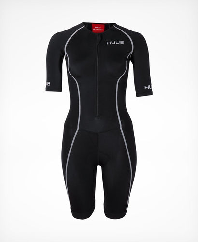 トライスーツ Essential Long Course Tri Suit - Black/Red [レディーズ] ESSLCSW HBWT19120 - STYLE BIKE ONLINE SHOP