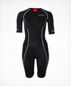 トライスーツ Essential Long Course Tri Suit - Black/Red [レディーズ] ESSLCSW HBWT19120