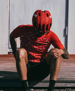 バイクジャージ Essential Road Logo Jersey - Polka Prismane Red [ユニセックス] 58131-1127 - STYLE BIKE ONLINE SHOP