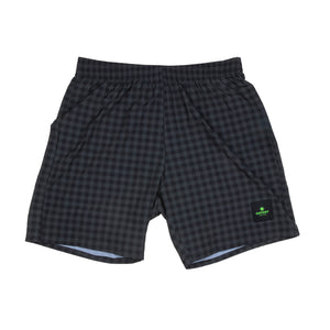 ランニングショーツ FTN Long Pace Shorts - ASPHALT CHECKERBOARD [ユニセックス] FMRSH05