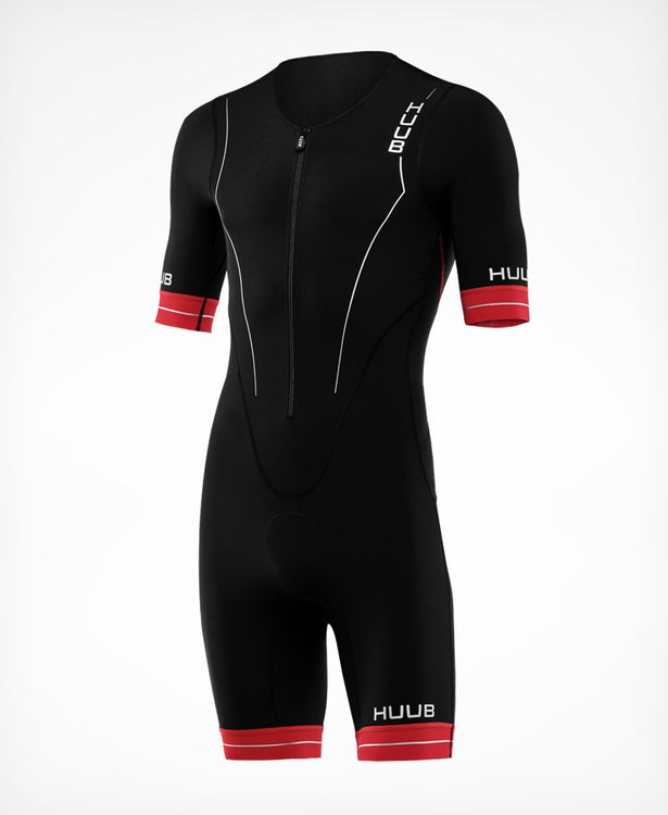 トライスーツ RaceLine Long Course Triathlon Suit - Black/Red [メンズ] RCLCS - STYLE BIKE ONLINE SHOP
