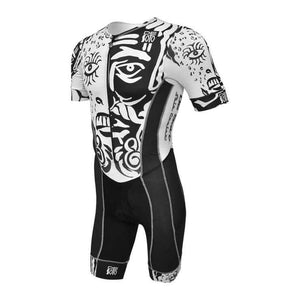 トライスーツ Forza Flisuit Sleeved* - Dos Almas - Black/White [メンズ] FFTSdosalmas - STYLE BIKE ONLINE SHOP
