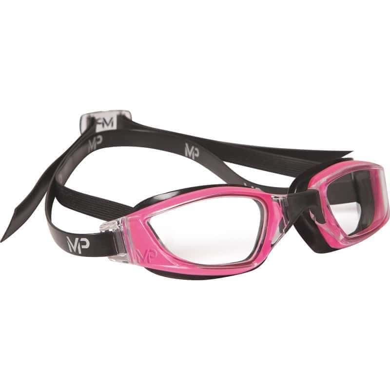 スイムゴーグル MP Michael Phelps XCEED(エクシード) Lady-fit - Pink/Black/Clear Lens [レディーズ] - STYLE BIKE ONLINE SHOP