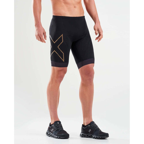 バイクショーツ MT5520bBGLD Blk/Gld Compression Tri Short [メンズ] - STYLE BIKE ONLINE SHOP