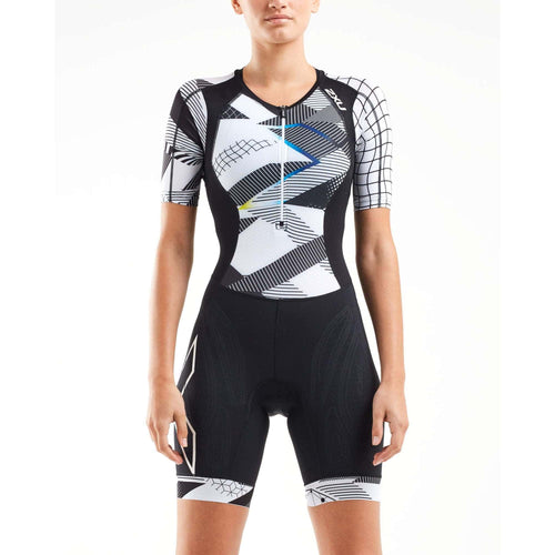 トライスーツ WT5521dBCRO Blk/Cro Compression Sleeved Trisuit [レディーズ] - STYLE BIKE ONLINE SHOP