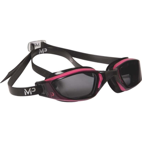 スイムゴーグル MP Michael Phelps XCEED(エクシード) Lady-fit - Pink/Black/Dark Lens [レディーズ] - STYLE BIKE ONLINE SHOP