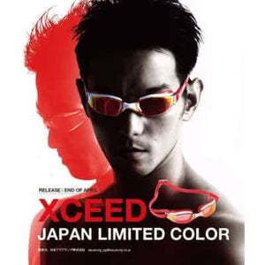 スイムゴーグル MP Michael Phelps XCEED(エクシード) - White/Red/Titanium Red Mirror [ユニセックス] - STYLE BIKE ONLINE SHOP
