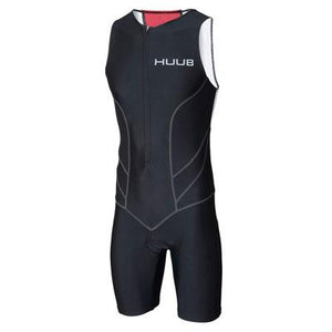 トライスーツ Essential Triathlon Suit - Black/Red [メンズ] ESSTRISUIT HBMT15110