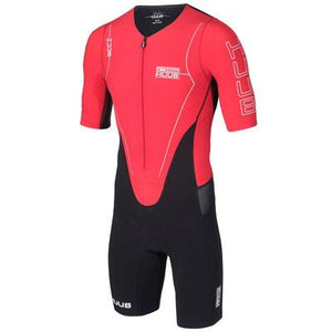 トライスーツ Dave Scott Long Course Triathlon Suit - Black/Red [メンズ] DSLCSR HBMT15112