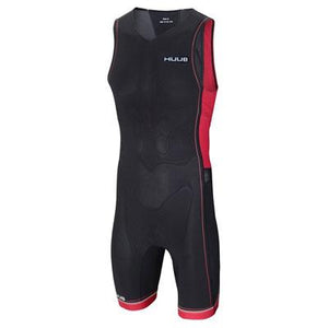 トライスーツ リアジップ Core Triathlon Suit with Rear Zip - Black/Red [メンズ] RZCoreSUITS HBMT15120