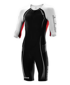 トライスーツ Anemoi Aero Tri Suit - Black/White [メンズ] ANELCSBW HBMT19001W