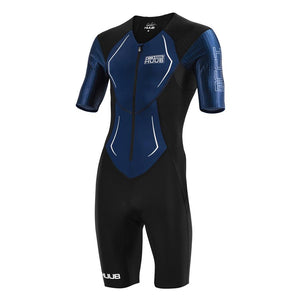 トライスーツ DS Long Course Tri Suit - Black / Navy [メンズ] DS19LCSBN HBMT19005
