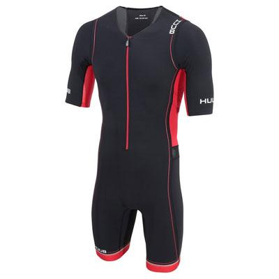 トライスーツ Core Long Course Triathlon Suit - Black/Red [メンズ] CORELCS HBMT19010 - STYLE BIKE ONLINE SHOP