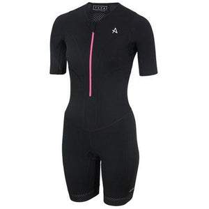 トライスーツ TANA Long Course Triathlon Suit - Black/Pink [レディーズ] TALCSW HBWT17150