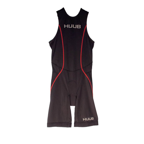 トライスーツ リアジップ Japan Limited Triathlon Suit Rear Zip - Black/White/Red [メンズ] HBMT19050 - STYLE BIKE ONLINE SHOP