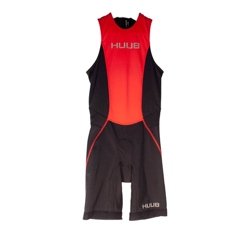 トライスーツ リアジップ Japan Limited Triathlon Suit Rear Zip - Black/Red [メンズ] HBMT19051 - STYLE BIKE ONLINE SHOP